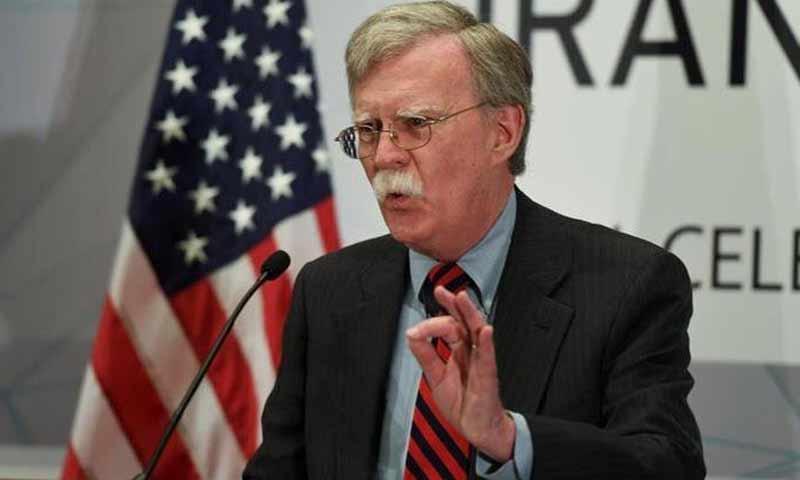 مستشار الأمن القومي الأمريكي، جون بولتون (تويتر)