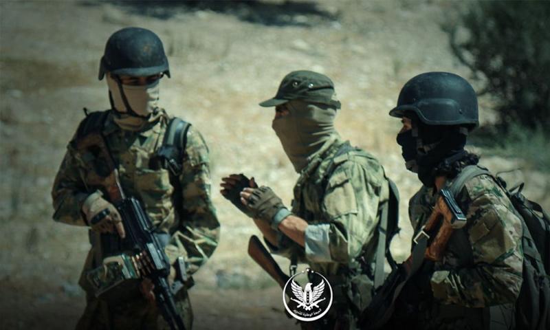 عناصر من الجبهة الوطنية للتحرير -(الجبهة الوطنية)