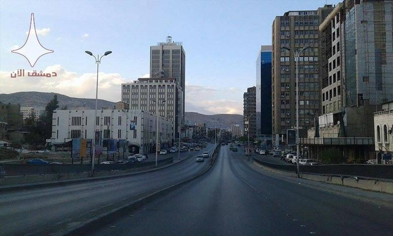جسر الثورة العدوي مشفى دار الشفاء - (دمشق الآن)