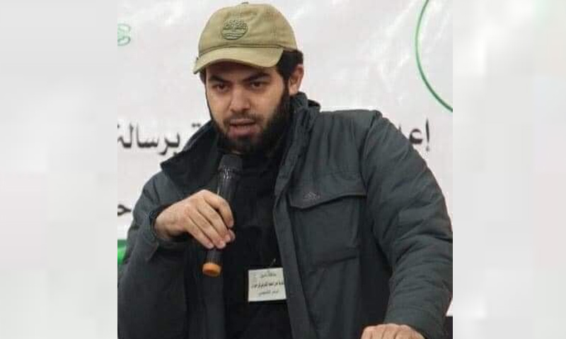 قائد غرفة عمليات البنيان المرصوص، جهاد المسالمة -( انترنت)
