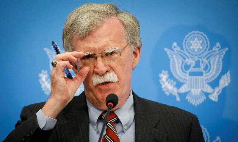 مستشار الأمن القومي الأمريكي، جون بولتون (رويترز)