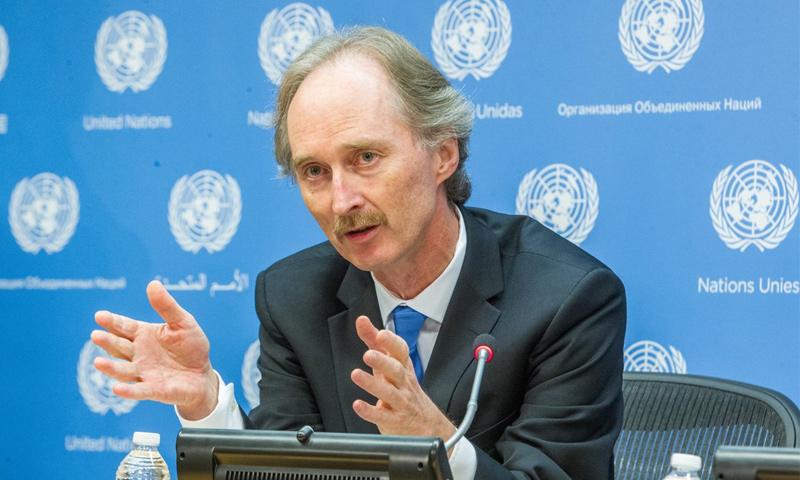المبعوث الأممي إلى سوريا غير بيدرسون (UN)