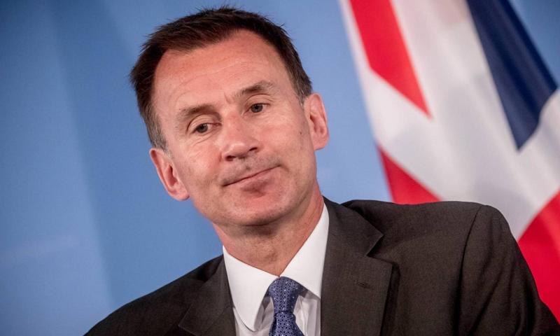 وزير الخارجية البريطاني جيريمي هانت (انترنت)