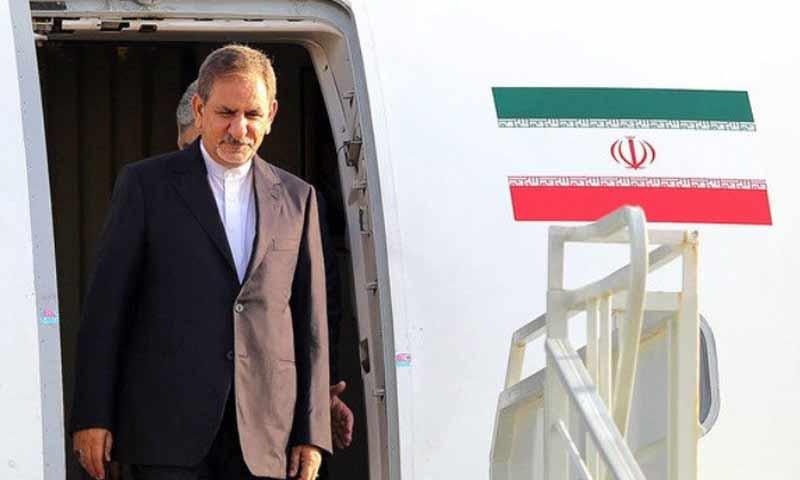 النائب الأول للرئيس الإيراني إسحاق جهانغيري (وكالة مهر)