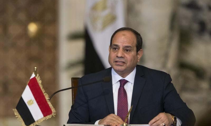 الرئيس المصري عبد الفتاح السيسي (رويترز)