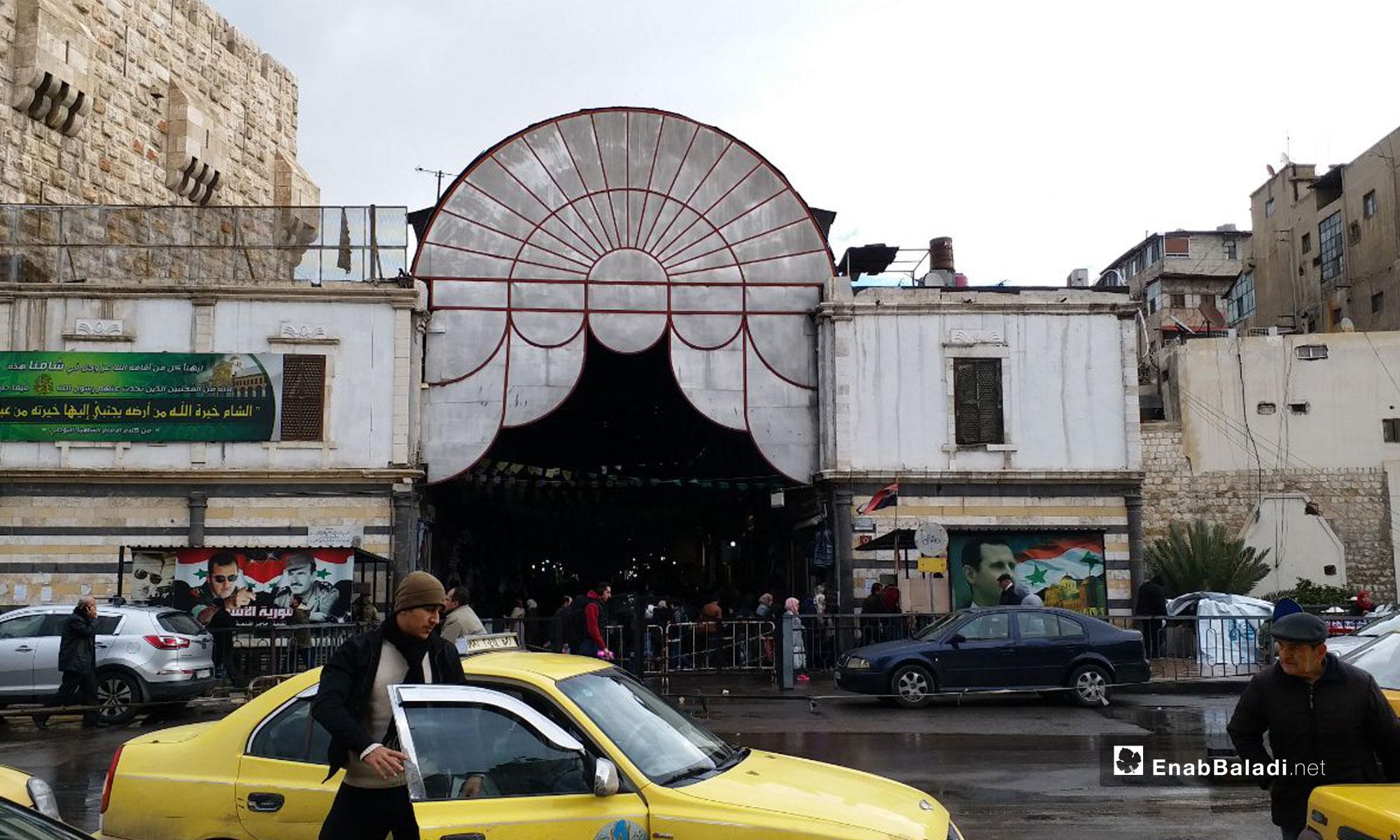 سوق الحميدية في دمشق - 14 من كانون الثاني 2019 (عنب بلدي)
