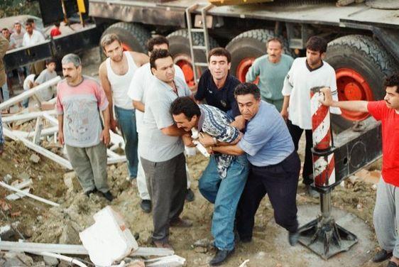 زلزال مرمرة 1999