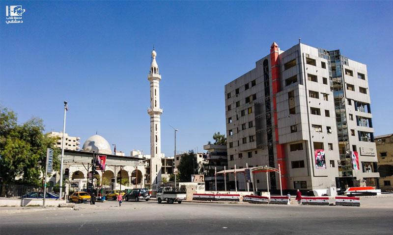 حي برزة في دمشق - 27 تشرين الأول 2017 (عدسة شاب دمشقي)