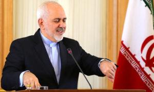 وزير الخارجية الإيراني جواد ظريف في طهران - 13 شباط 2019 (AFP)