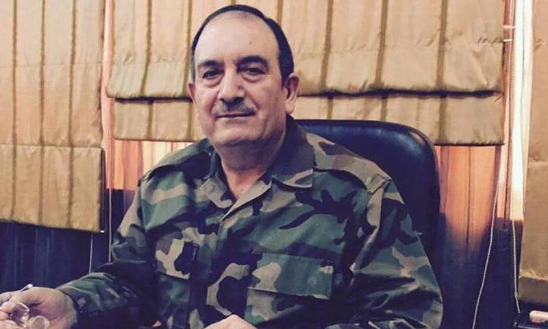اللواء حسن دعبول رئيس فرع الأمن العسكري في حمص- قتل في تفجيرات 25 شباط 2017 (فيس بوك)