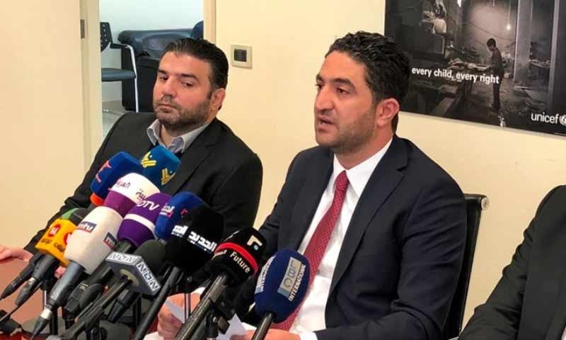وزير الدولة اللبنانية لشؤون النازحين السوريين صالح الغريب- 11 شباط 2019 (ليبانون ديبايت)