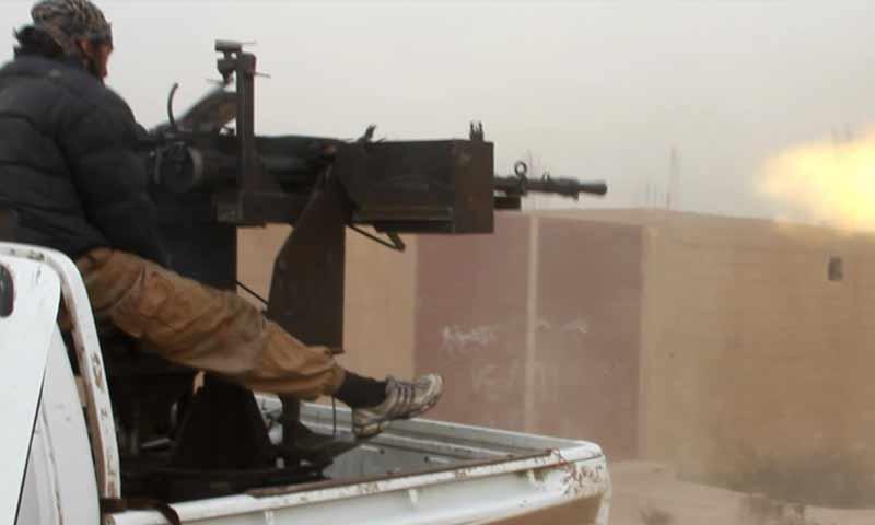معارك تنظيم الدولة في منطقة هجين شرقي دير الزور كانون الثاني 2019 (أعماق)