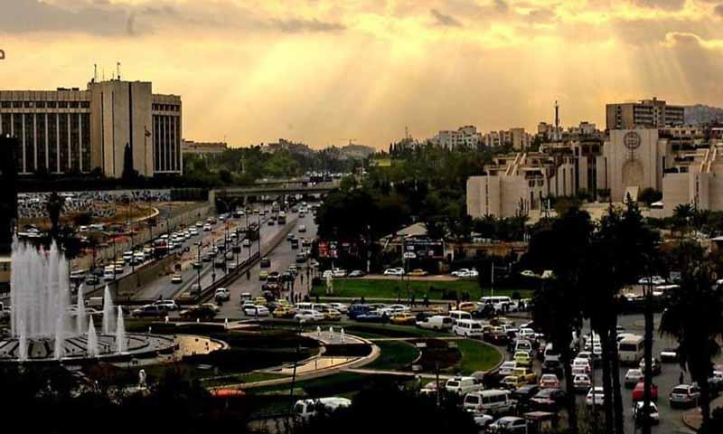 ساحة الأمويين في العاصمة دمشق 25 شباط 2019 (دمشق الآن)