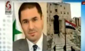 رئيس اتحاد غرف الصناعة السورية، فارس شهابي، خلال مقابلة مع الاخبارية السورية 24 شباط 2019 (يوتيوب)