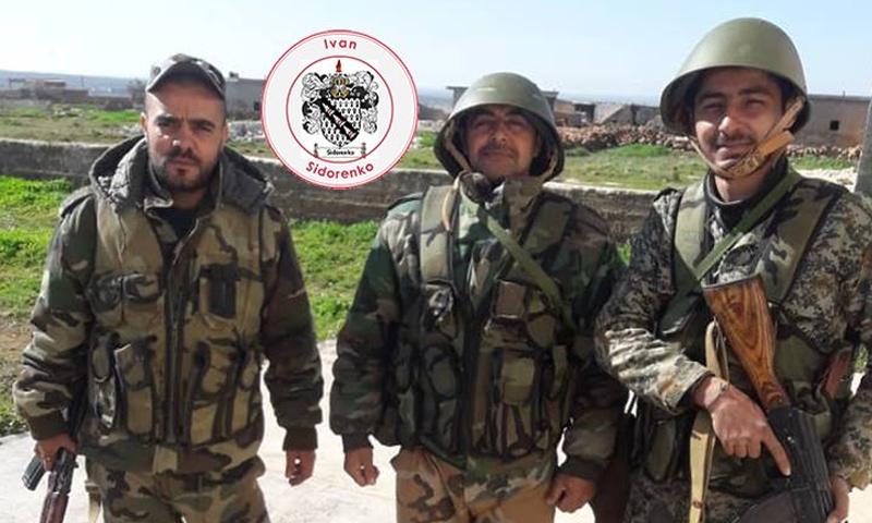 عناصر من الفيلق الخامس في ريف حماة الشمالي - 9 من شباط 2019 (IvanSidorenko1)