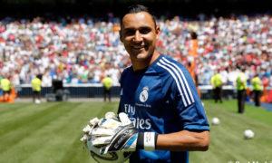 الحارس كيلور نافاس، حارس مرمى ريال مدريد الإسباني (ريال مدريد)