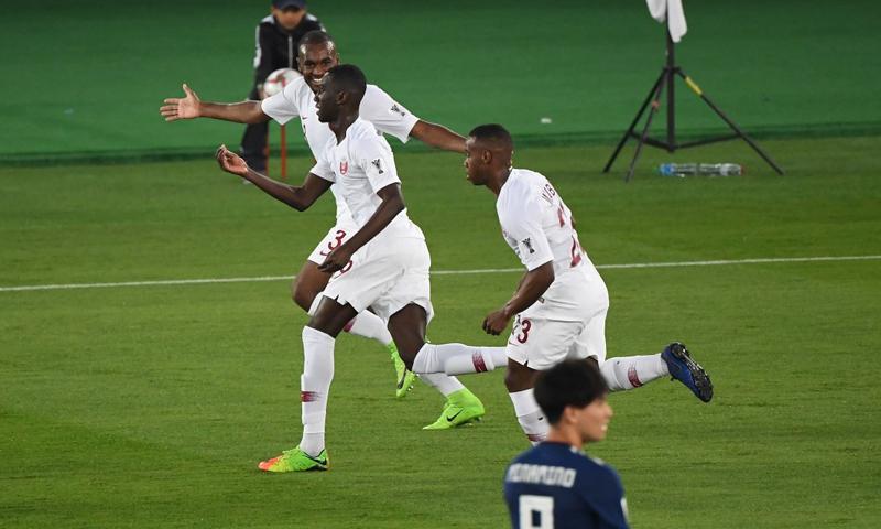 المنتخب القطري يتوج بكأس أمم آسيا على حساب المنتخب الياباني (AFC)