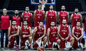 المنتخب السوري لكرة السلة - (الاتحاد الآسيوي لكرة السلة)