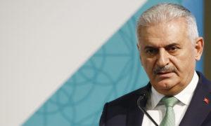 رئيس الوزراء التركي بن علي يلدرم (TRT)