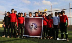 اولمبياد الأمل لذوي الاحتياجات الخاصة في بلدة الأبزمو بريف حلب - 11 من آذار 2019 (عنب بلدي)