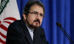 المتحدث باسم الخارجية الإيراني بهرام قاسمي (ايرنا)