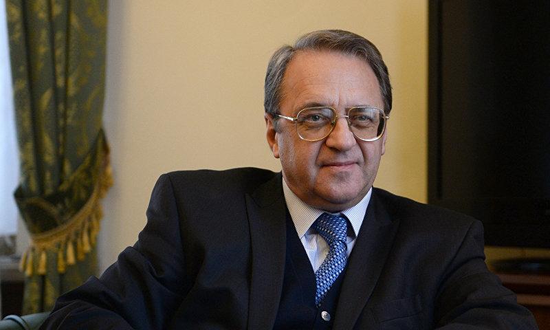 المبعوث الروسي الخاص للشرق الأوسط وإفريقيا، ميخائيل بوغدانوف (سبوتنيك)