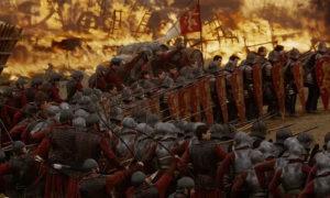 """مشهد من مسلسل """"صراع العروش"""" في جزءه السابع (HBO)"""