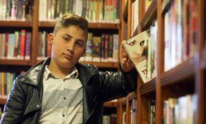 الطفل السوري محمد خميس (الأناضول)