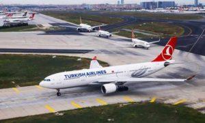 طائرة تابعة للخطوط الجوية التركية (Turkish Airlines)