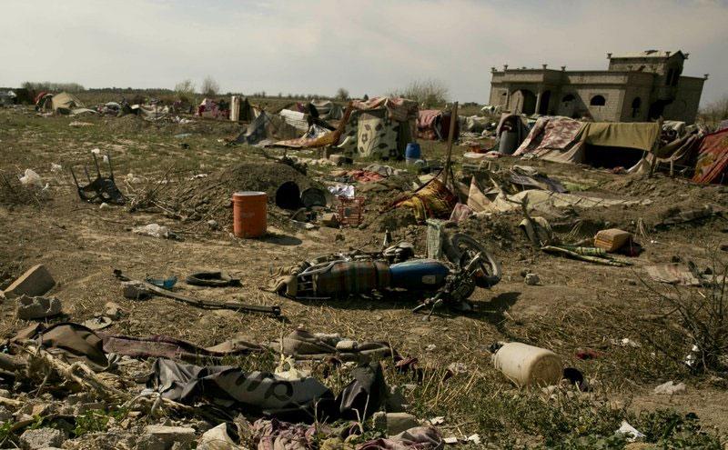 الباغوز بعد سيطرة قوات سوريا الديمقراطية عليها - 23 من آذار 2019 (AP)