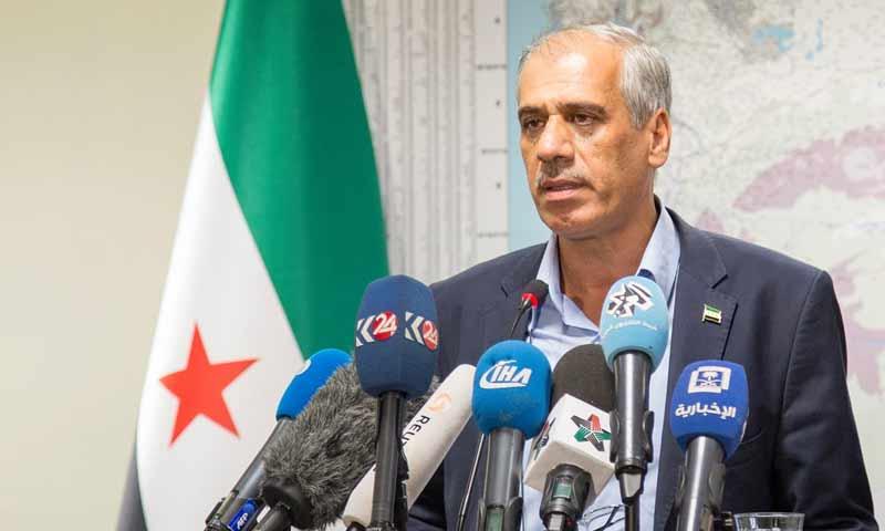 رئيس الحكومة السورية المؤقتة، الطبيب جواد أبو حطب (صفحته الرسمية على فيس بوك)