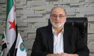 المراقب العام لجماعة الإخوان المسلمين في سوريا، محمد حكمت وليد - (الصفحة الرسمية على فيس بوك)