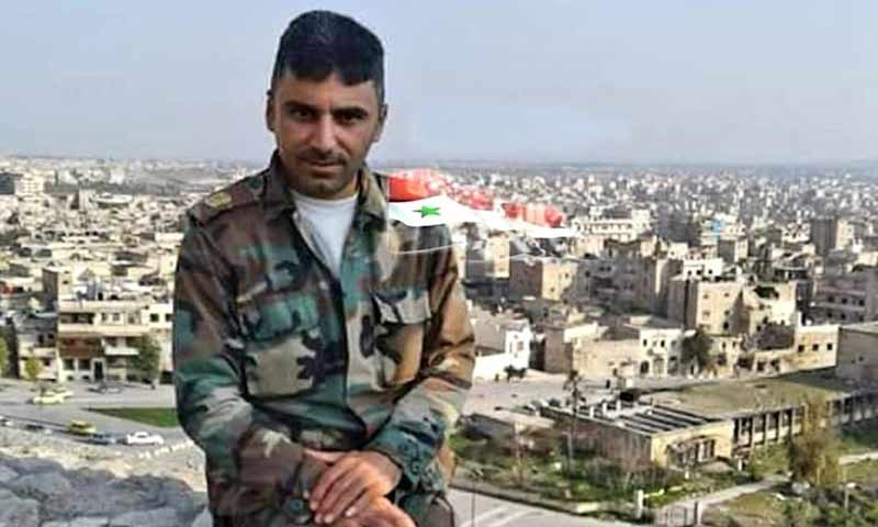 مقتل الرائد ماهر منير محمد من قوات الأسد جراء حادث سير في منطقة الشولا بريف دير الزور 8 أذار 2019 (شبكة أخبار جبلة)