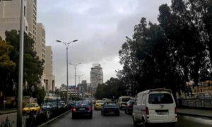 أحد شوارع العاصمة دمشق 10 شباط 2019 (عدسة شاب دمشقي)