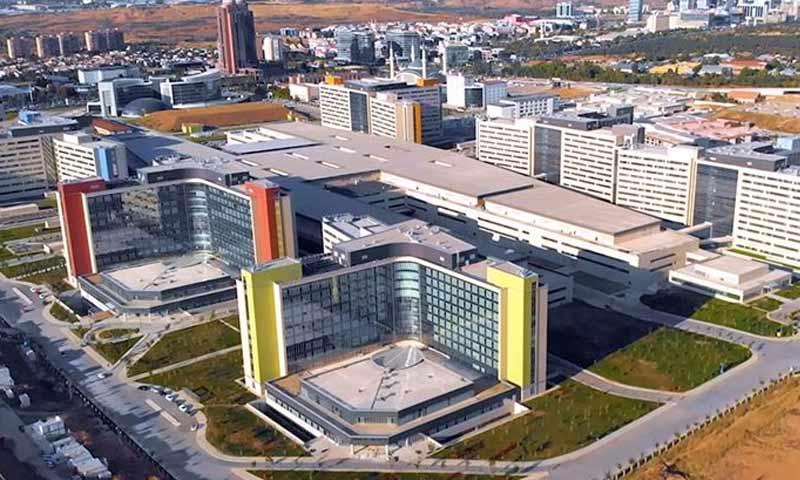 مدينة أنقرة الطبية في العاصمة التركية آذار 2019 (TRTعربي)