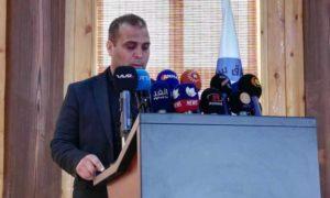 """الناطق باسم مكتب العلاقات الخارجية في """"الإدارة الذاتية""""، كمال عاكف، 17 آذار 2019 (وكالة هاوار)"""