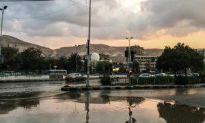 العاصمة دمشق في أجواء الشتاء في 14 آذار 2019 (عدسة شاب دمشقي)