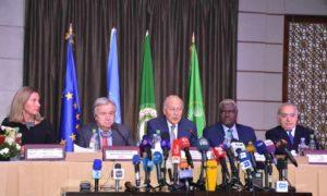 القمة العربية بدورتها الثلاثين في العاصمة التونسية على مستوى الرؤساء 31 آذار 2019 (جامعة الدول العربية)