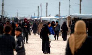 مخيم الهول - 9 شباط 2019 (AFP)