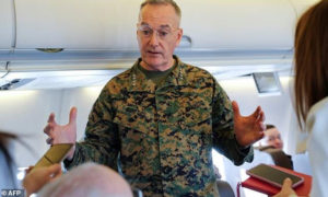 الجنرال جوزيف دانفورد، رئيس هيئة الأركان المشتركة الأمريكية - (البنتاغون)