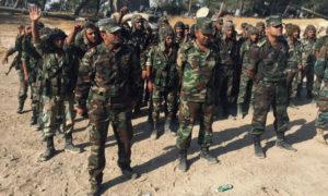 عناصر من قوات الأسد في ريف حمص الشمالي - 2018 (سبوتنيك)