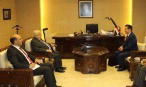 وليد المعلم يتسلم أوراق اعتماد السفير البرازيلي الجديد في دمشق- 5 آذار 2019 (سانا)