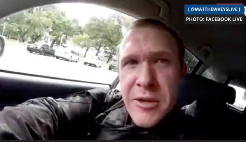 """برينتون تارانت، منفذ حادث مسجد """"كرايست تشيرش في نيوزيلندا"""" (فيسبوك)"""