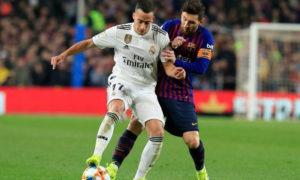 ريال مدريد وبرشلونة في ذهاب الدوري الإسباني (لا ليغا)
