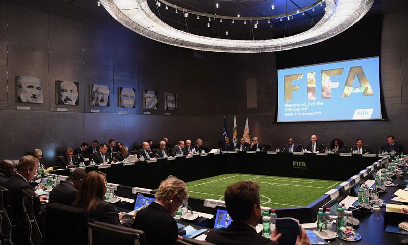 اجتماع مجلس الاتحاد الدولي لكرة القدم فيفا - 15 من آذار 2019 (فيفا)