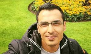 اللاجئ السوري حازم أحمد غرير في إيرلندا (إنترنيت)