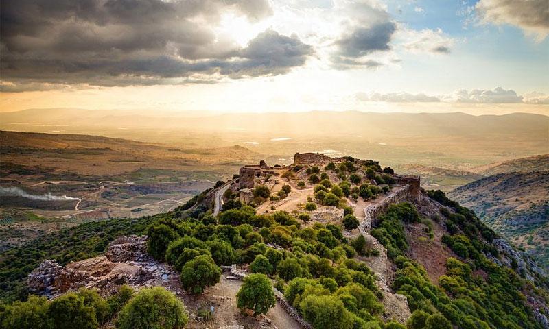 حصن نمرود في شمالي مرتفعات الجولان (iStock)