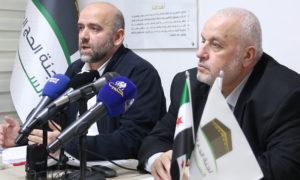 مدير الحج سامر بيرقدار في مؤتمر صحفي-5 من آذار 2019 (عنب بلدي)
