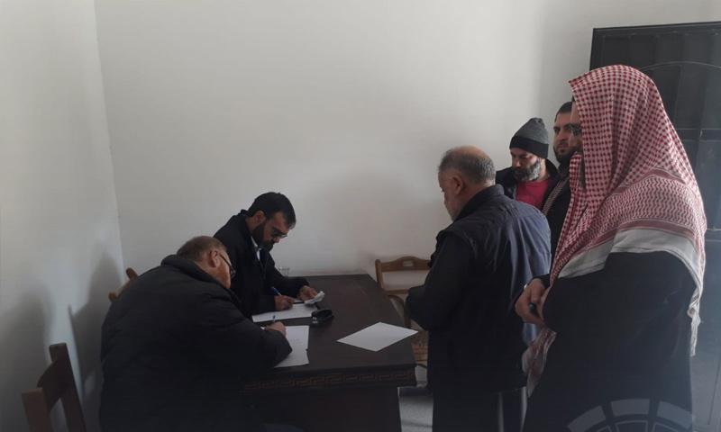تحضيرات حكومة الإنقاذ لانتخابات مجلس شورى إدلب - 22 من آذار 2019 (المؤتمر العام للثورة)