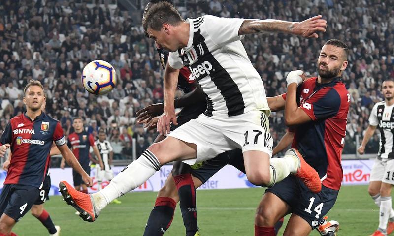 نادي يوفنتوس يتلقى هزيمته الأولى أمام جنوى في الدوري الإيطالي (موقع يوفنتوس)